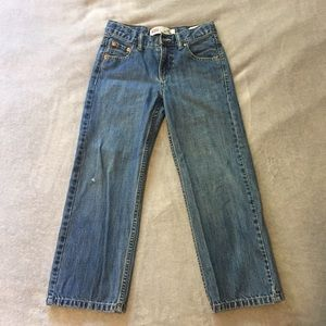 Boys Levi's 550 Relaxed Fit Blue Jean Pants